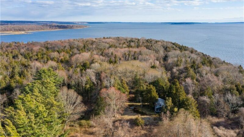 0 Patience for others? Small island's only home hits market